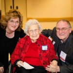 Ms. Margaret Fitzgerald with Sandra and Robert Lane